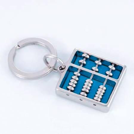 Chrome Schlüsselanhänger ● Abacus ● verschiedene Farben