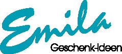 Emila Weihnachtskugeln und Geschenke-Logo